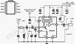 10 To 1000 Mhz Oscillator Circuit Diagram