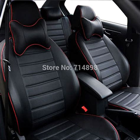 carnong car seat cover pu leather proper fit  vw caddy