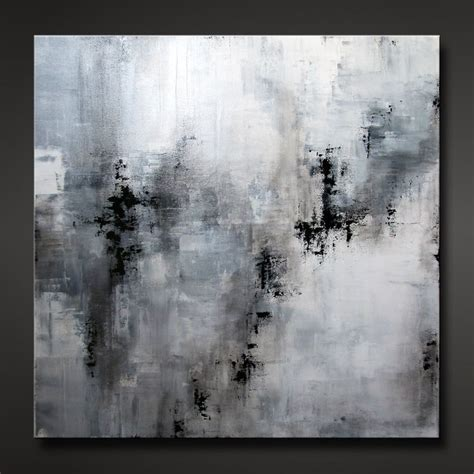 Abstract Paintings Black And White by Abstract Painting Contemporary Modern Design Neutral