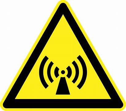 Warning Hazard Signs Clipart Clip Electromagnetic Icons