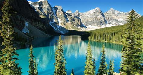 canada national banff parks canadian park lake alberta moraine year escape lacs