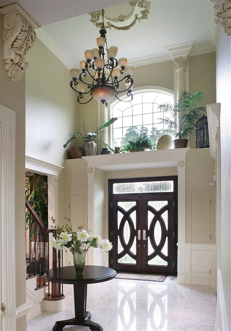 Decor Doors - the details ledge above this front door and the