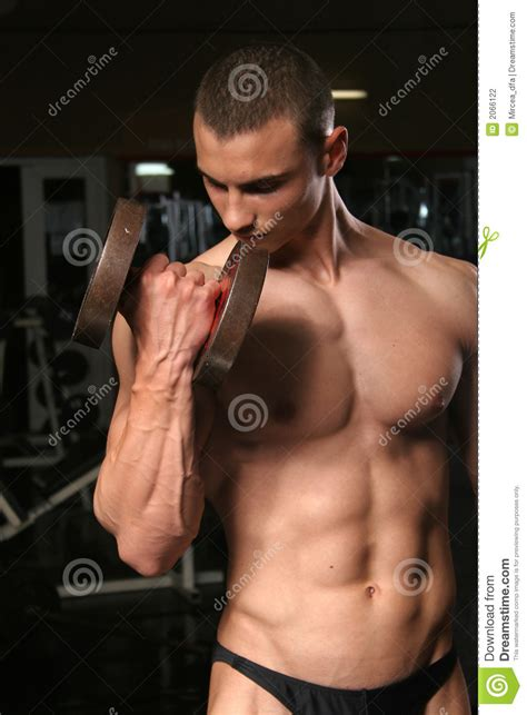 bodybuilder   gym stock photography image
