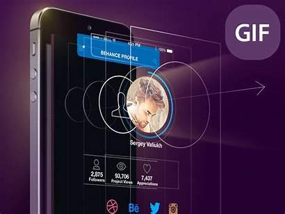 Screen Mobile Interface Animation Ui Designer Animated