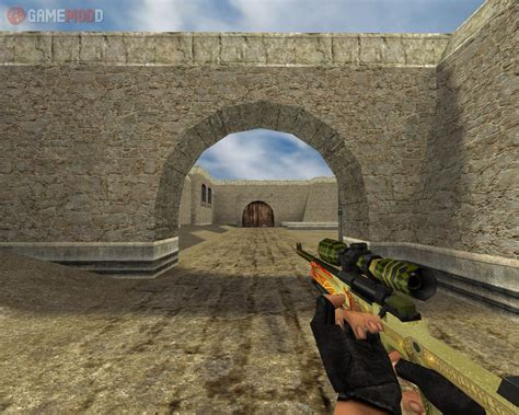 default awp dragon lore cs  skins weapons awp