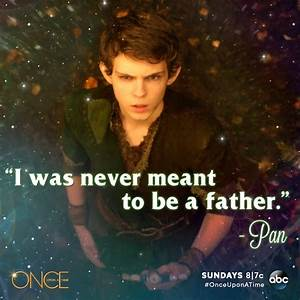 Pan was never meant to be a father - Once Upon A Time ...