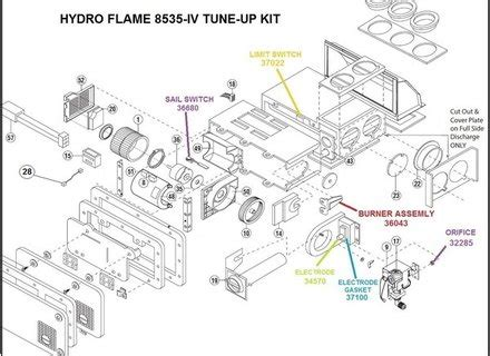 Atwood 8525 Rv Furnace Wiring Diagram by Atwood 33589 Hydro Furnace Motor Pf23144q Rv Parts