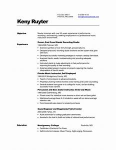 Free Resume Templates Executive Summary Samples e Page