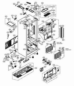 Lg Refrigerator Fridge Freezer Service Manual Choose From 1000  Models