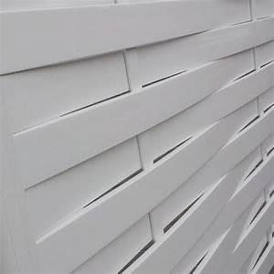 Brise Vue Pvc Blanc : brise vue pvc tress portail cloture de france ~ Dailycaller-alerts.com Idées de Décoration