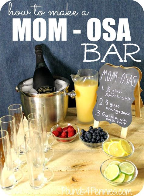 How To Make A Bar by Learn How To Make A Mimosa Bar For S Day