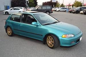 1993 Honda Civic Si Eg Hatchback No Reserve Hatch Manual