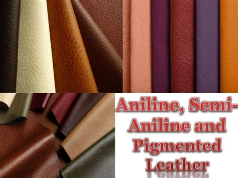 Semi Aniline Cowhide Leather by Aniline Semi Aniline And Pigmented Leather