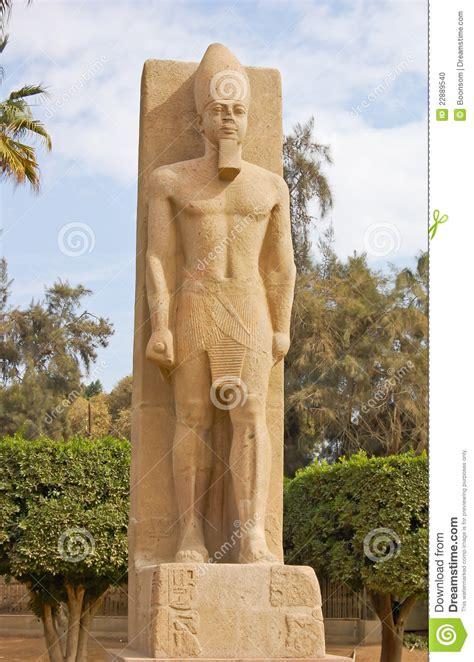 standing statue  ramses ii stock photo image