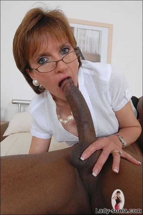 Lady Sonia Milf Loves This Big Black Cock Babes And