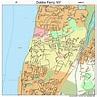Dobbs Ferry New York Street Map 3620698