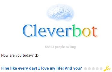 Cleverbot Talks Better Than Most People On Omegle Rain