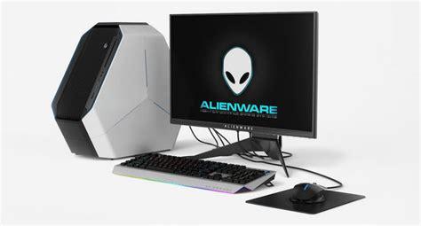 dell alienware computer set  cgtrader