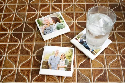 do it yourself coasters do it yourself polaroid coasters add a retro vibe to home the burg features