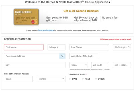barnes noble application how to apply for the barnes and noble credit card