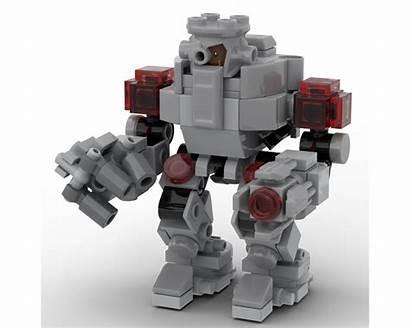 Lego Giant Cyborg Moc Dimensions Suit Rebrickable