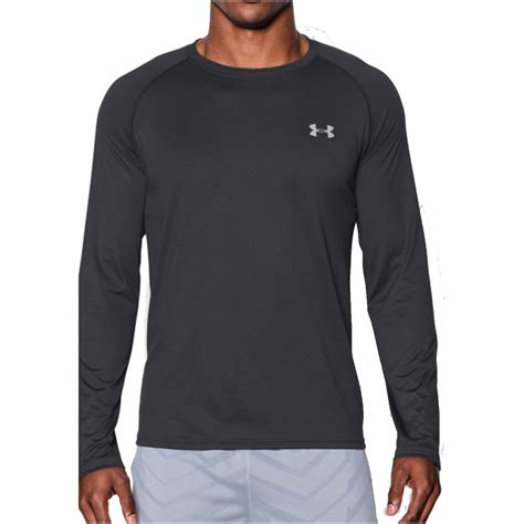 under armour 2017 mens ua tech long sleeve t shirt gym ls