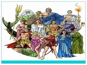 Greek Mythology: Gods and Goddesses and Other Divinities