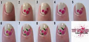 Nail art designs step by g