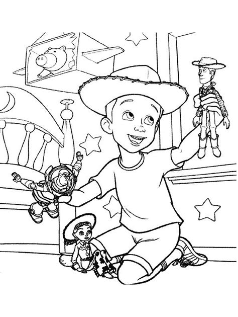 disegni da colorare woody story toy story ve10 disegni da colorare