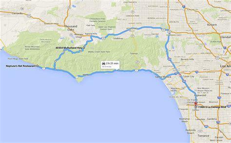 malibu canyon motorcycle ride eaglerider