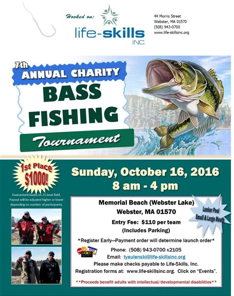 Fishing Tournament Flyer Template