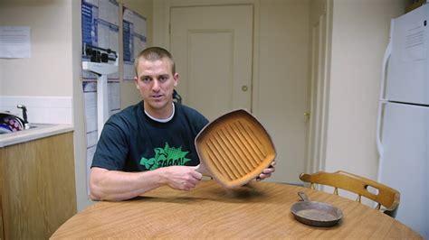 clean rust  cast iron  molasses youtube