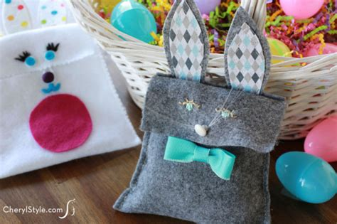 felt easter bunny bags fun family crafts