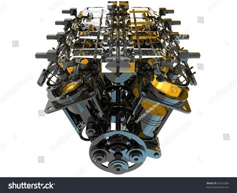 Internal Combustion Engine Stock Photo 62810206