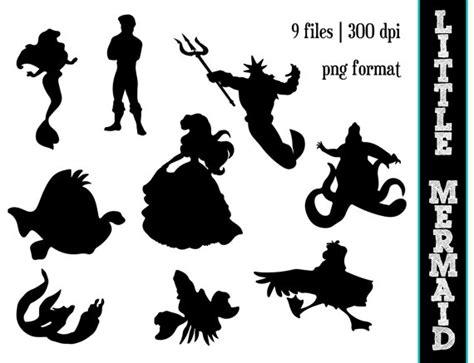 Princess Ariel Pumpkin Stencils the little mermaid silhouettes disney princess ariel