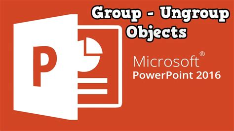 powerpoint objects ungroup