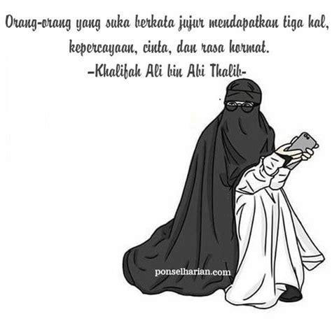 gambar kartun muslimah cinta  kejujuran kartun muslimah