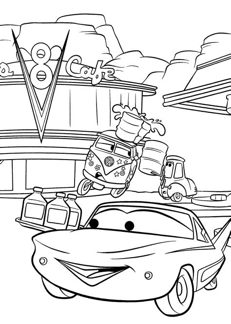 Coloring Pages ALL CARS 2 Coloring Home