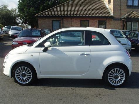 Fiat 500 Lounge For Sale by Used Fiat 500 2009 Petrol 1 2 Lounge 3dr Hatchback White