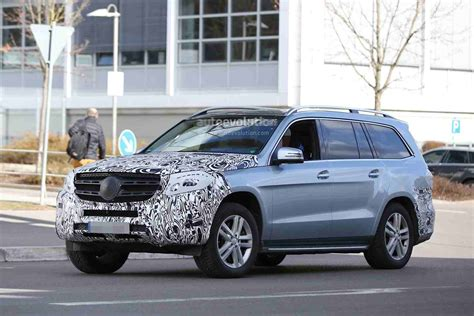 Mercedes-benz Gls Photos Leaked To The Web