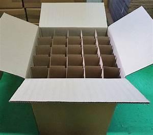 Carton Pour Verre : carton pour verres avec croisillons ~ Edinachiropracticcenter.com Idées de Décoration