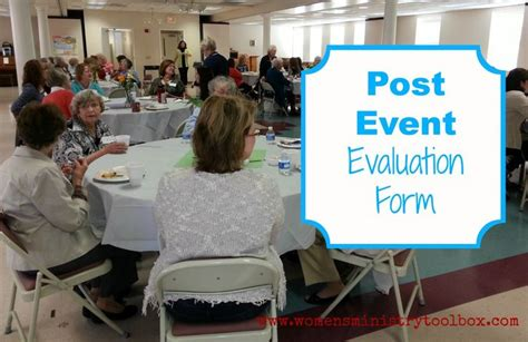 Post Event Evaluation Form (free Printable