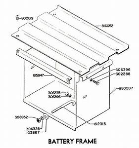 Bt22-110 - Battery Hold Down Rod  4 U0026quot