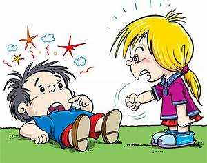 clipart kids fighting - Clipground