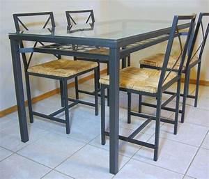 Table A Manger En Verre Ikea : table 4 chaises ikea clasf ~ Preciouscoupons.com Idées de Décoration