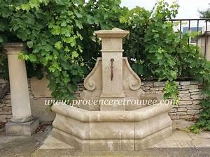 Fontaine A Eau Exterieur : fontaine ext rieure en pierre taill e la main fon18 155 ~ Dailycaller-alerts.com Idées de Décoration