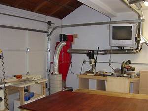 Woodworking Shop Dust Collection System With Brilliant