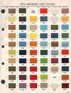 68 Vw Transporter Original Colors