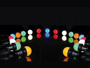 Guirlande Lumineuse Sans Prise : guirlande lumineuse ext rieure pro de 100 m tres pour 300 lampes type b22 ba onnette ~ Teatrodelosmanantiales.com Idées de Décoration