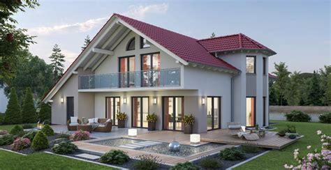 Modernes Haus Mit Erker Bauen  Ytong Bausatzhaus